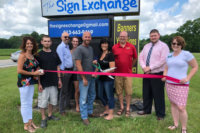 Ribbon-cutting for The Sign Exchange