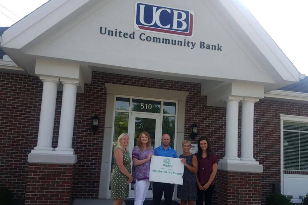 United Community Bank - member of the month